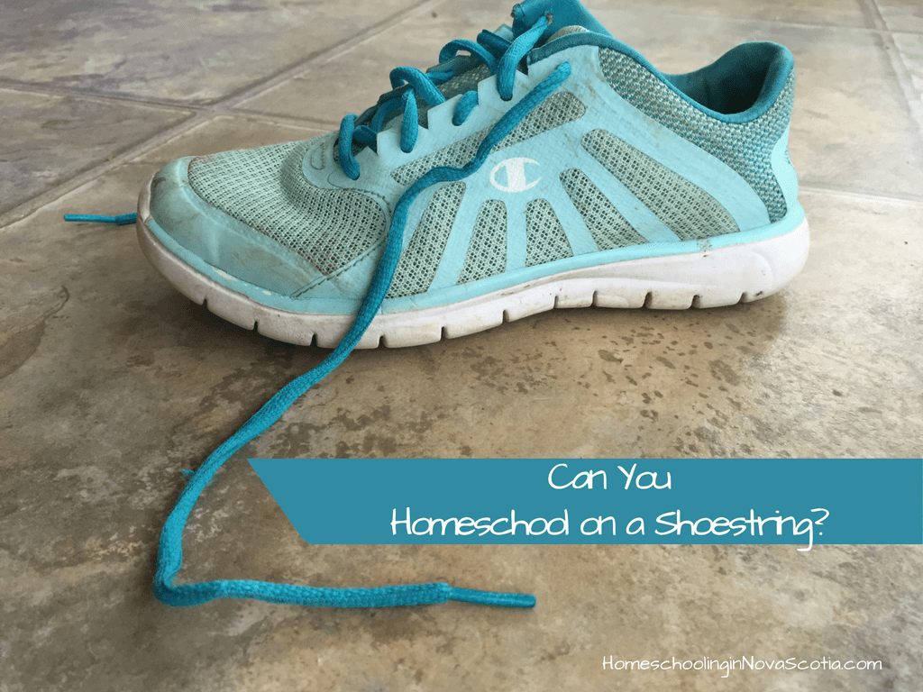 homeschool on a shoestring