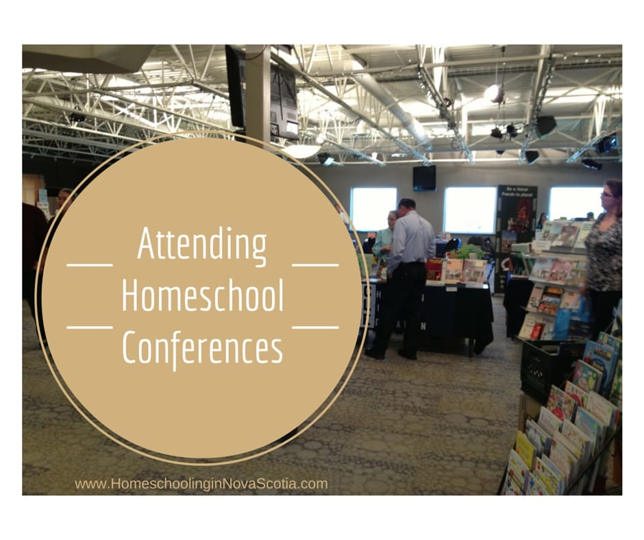 attending homeschool conferences