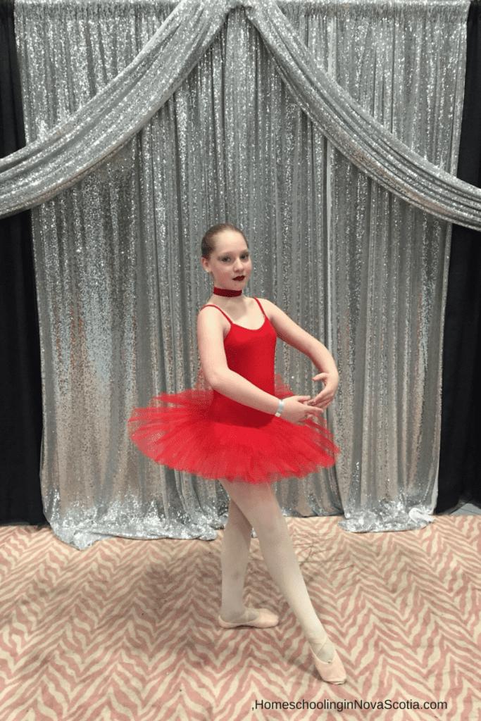 dance in your homeschool