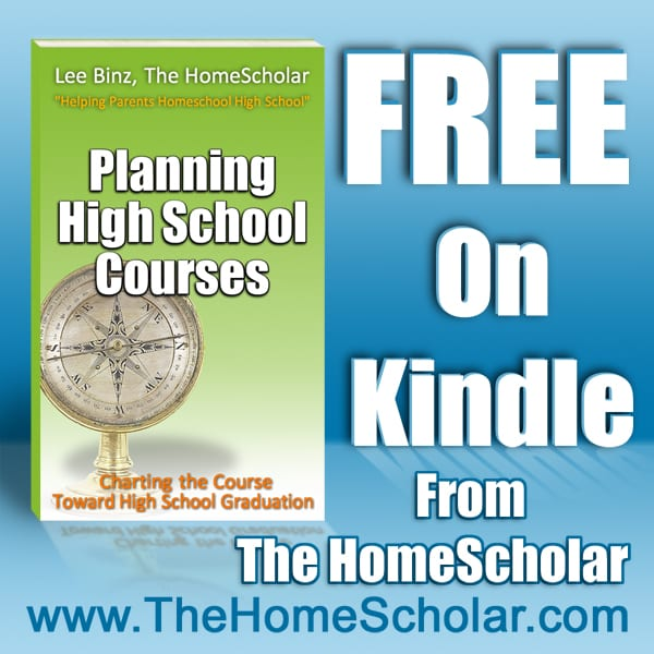 Free Planning High School Courses on Kindle