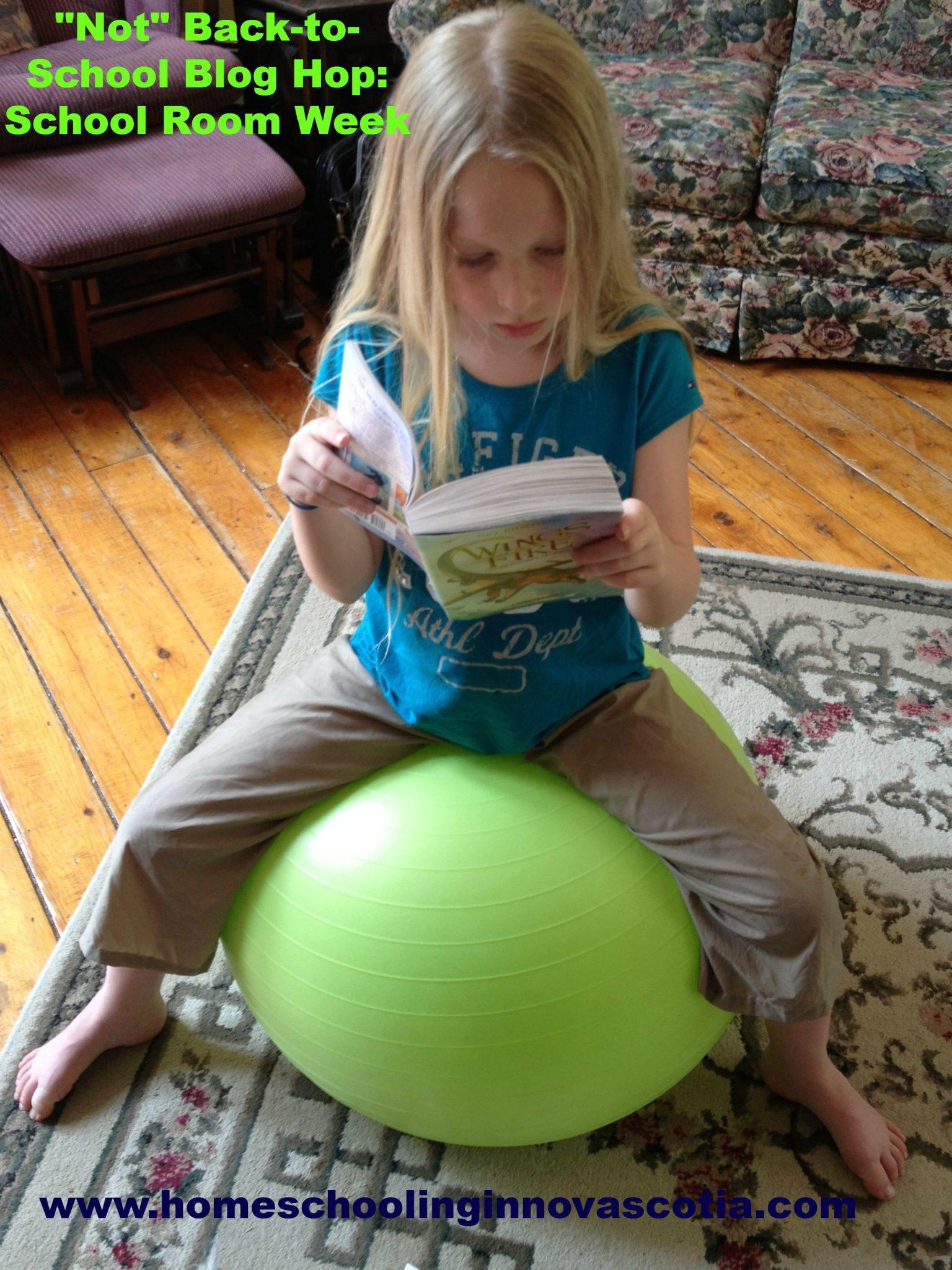 Not Back to School Blog Hop - School Room Week