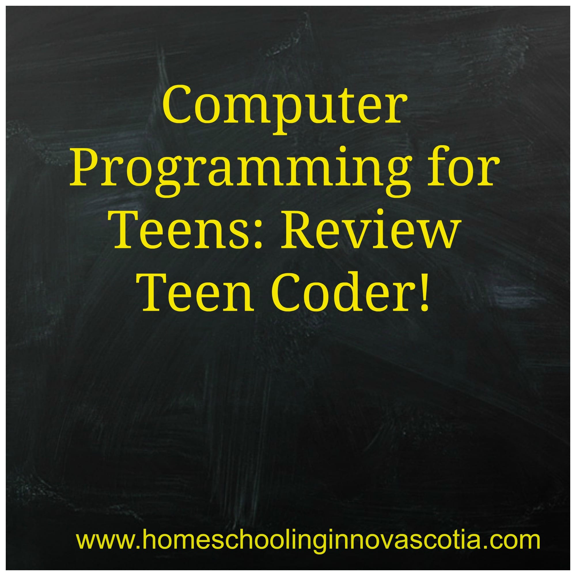 Teen Coder Review Pic
