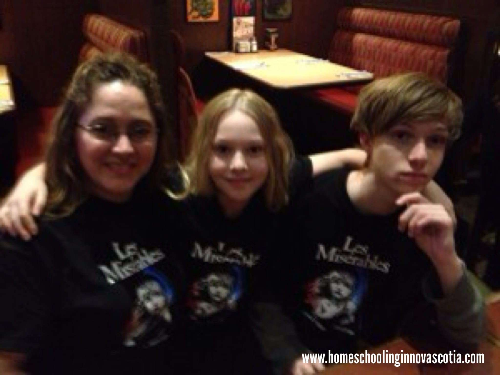 Kimberly & Kids After Les Miserables