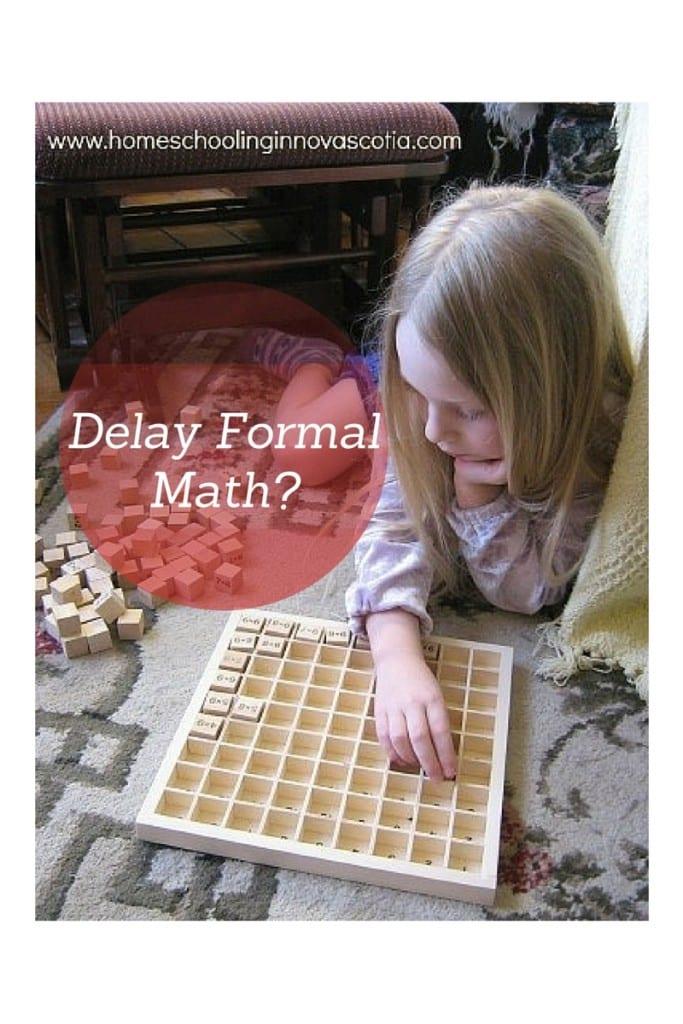 delay formal math