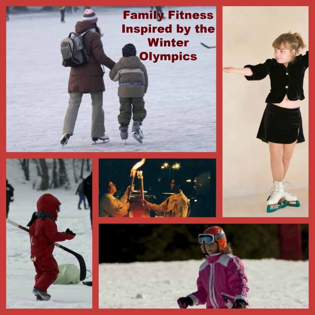 family fitness and winter olympics