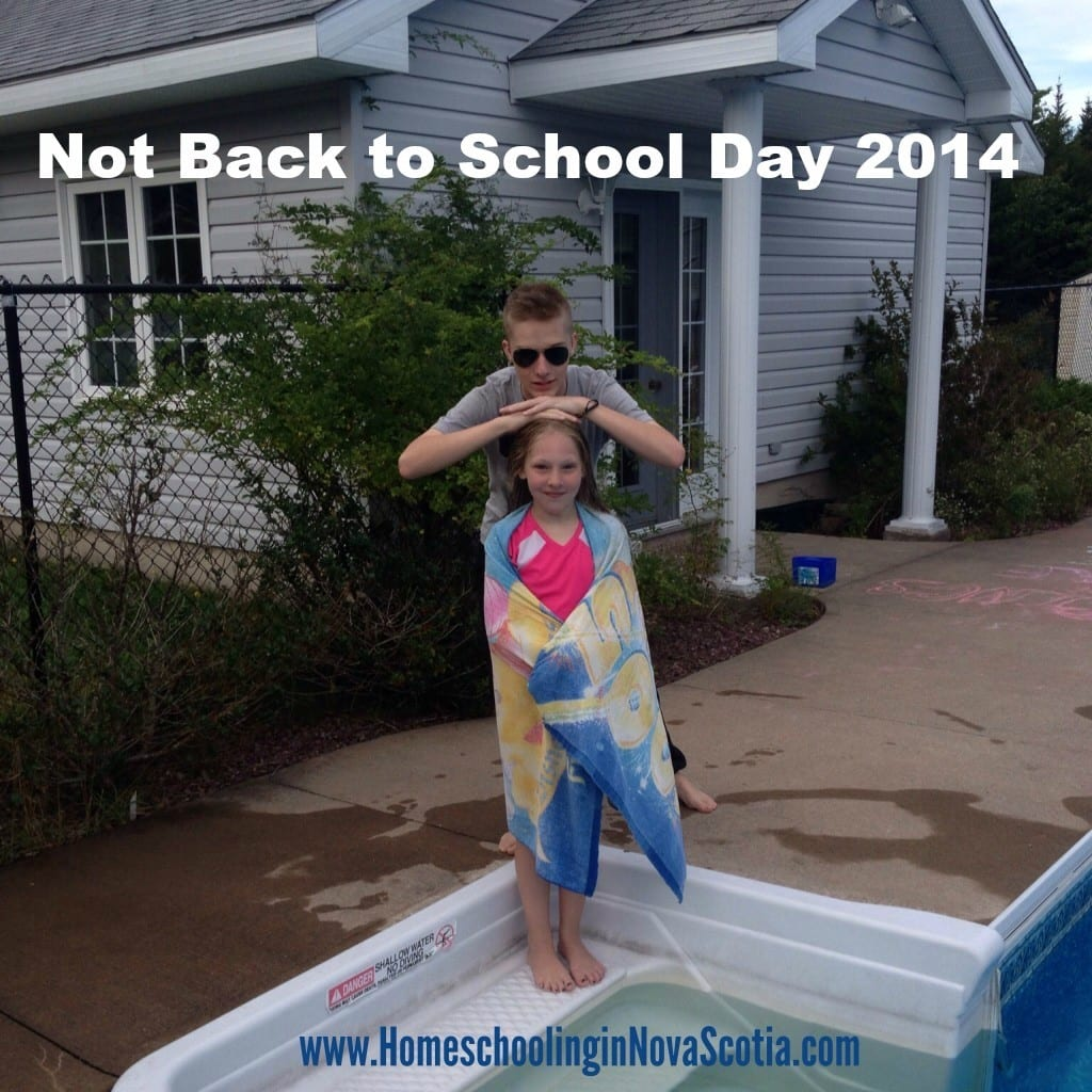 not back to school day 2014