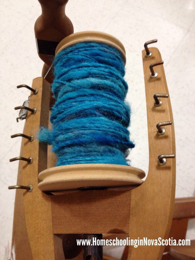 spinning and dyeing
