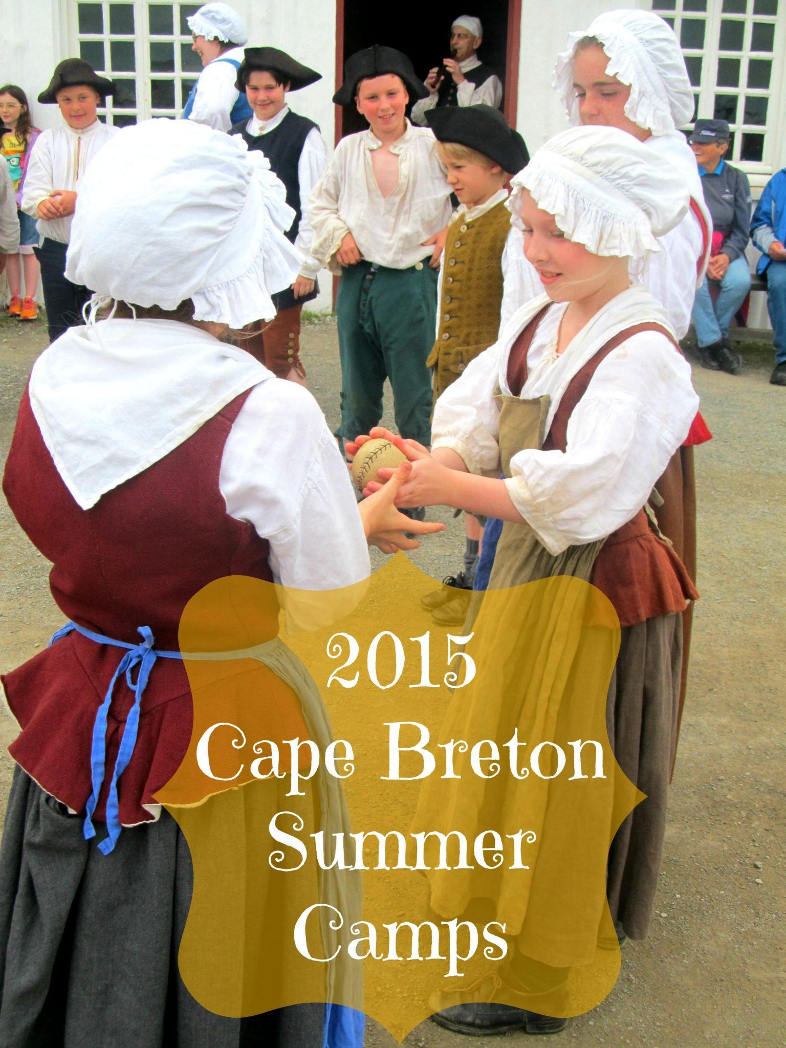 2015 cape breton summer camps