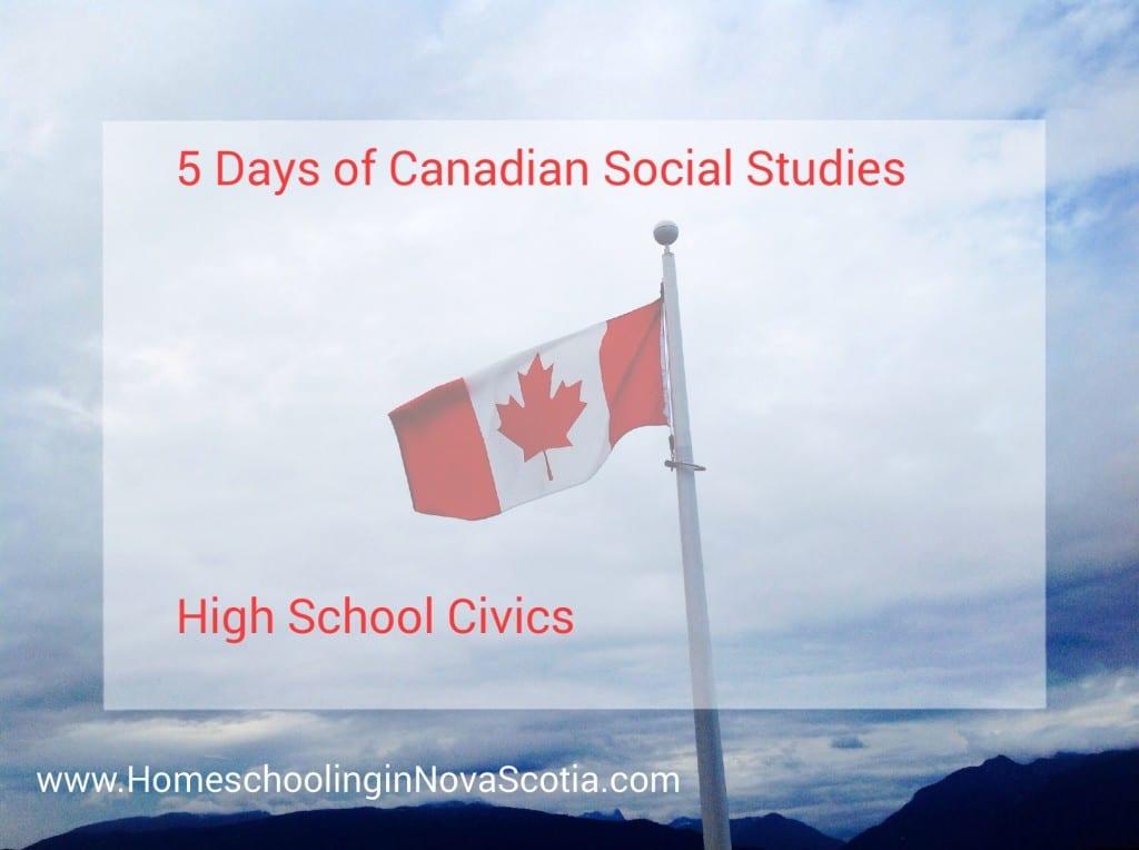 high school civics