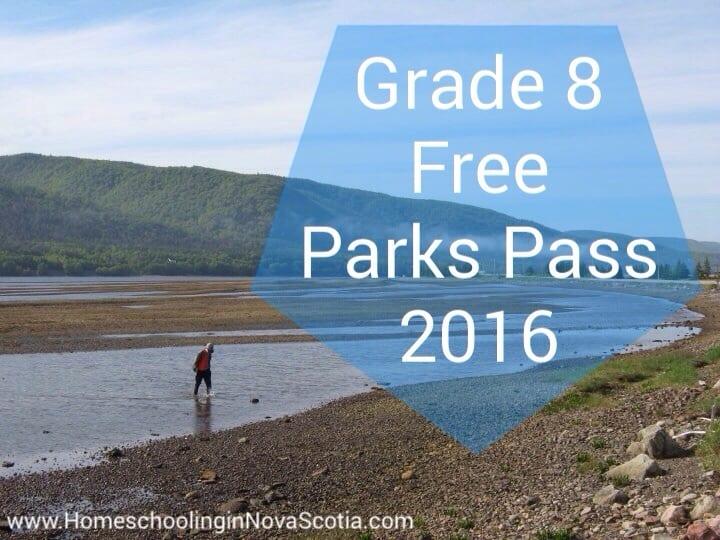 Grade 8 Free Parks Pass