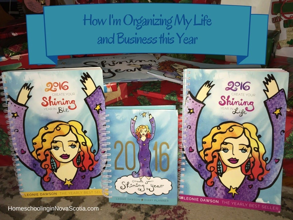 organizing my life and business this year