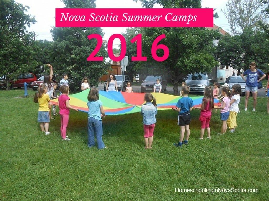 Nova Scotia summer camps 2016