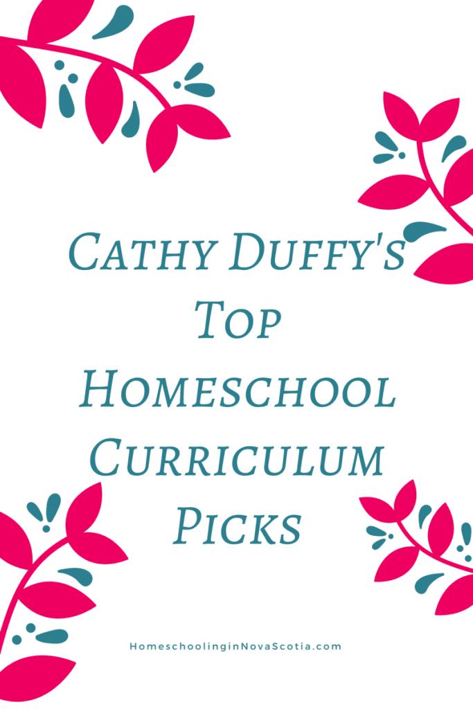 top homeschool curriculum picks