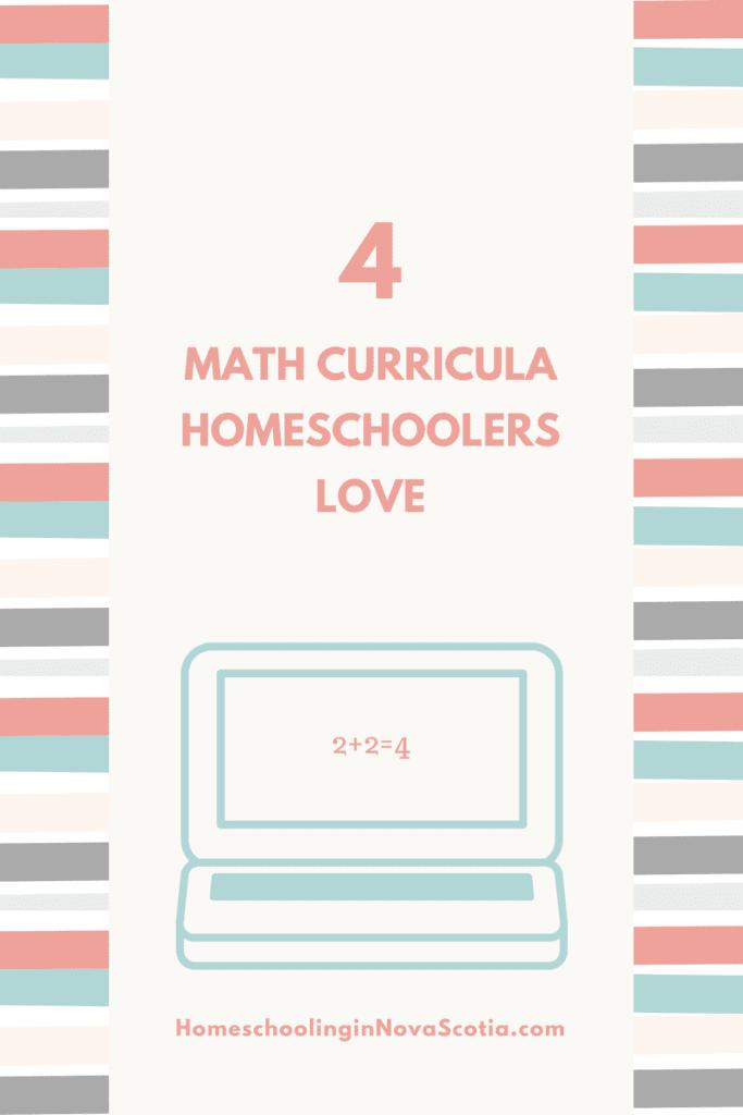 curricula homeschoolers love