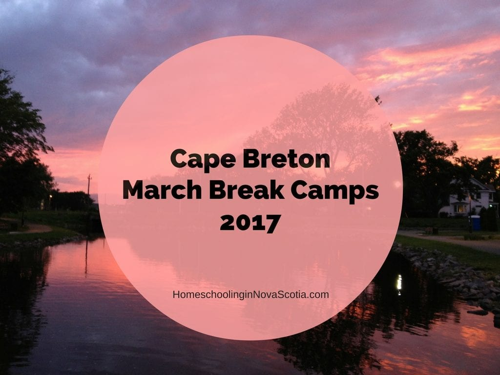 cape breton march break camps 2017