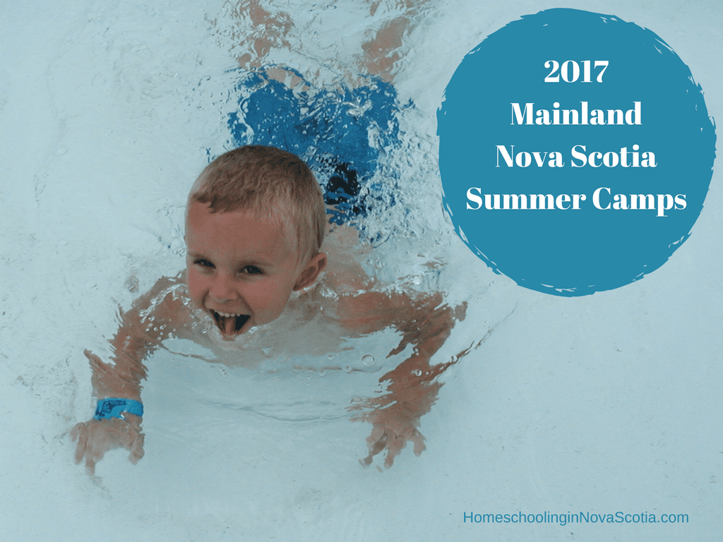 2017 Nova Scotia summer camps